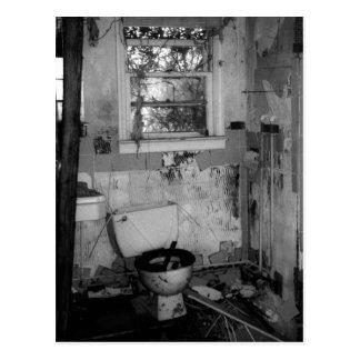 Bathroom Break Postcard