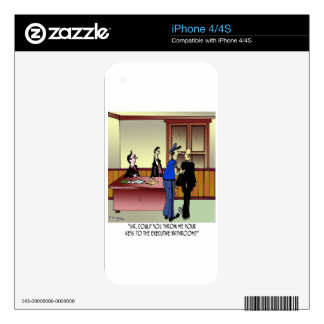 Bathroom Cartoon 8936 iPhone 4S Skins