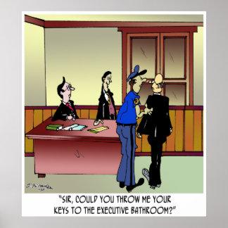 Bathroom Cartoon 8936 Poster
