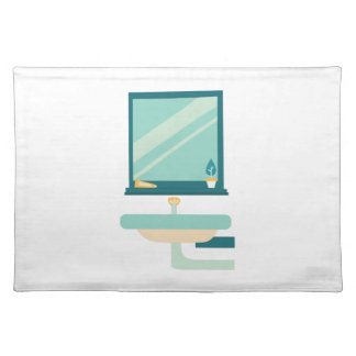 Bathroom Cloth Placemat