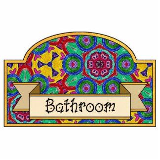 Bathroom - Decorative Sign Photo Cutouts