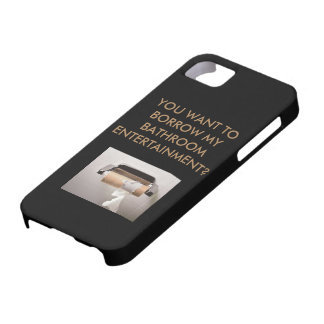 Bathroom Entertainment iphone protector case