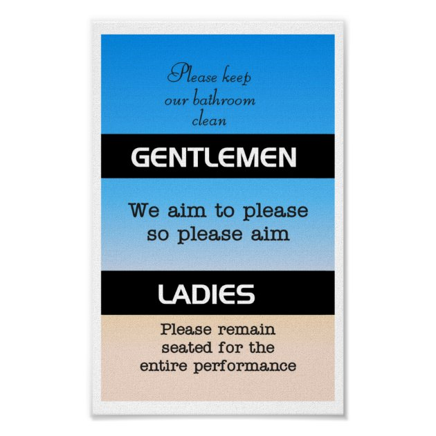 Bathroom Etiquette Posters Pictures To Pin On Pinterest