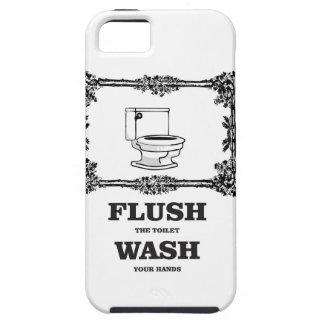 bathroom flush wash iPhone SE/5/5s case