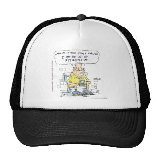 Bathroom Not 4 Social Networking Funny Tees & Gift Trucker Hat
