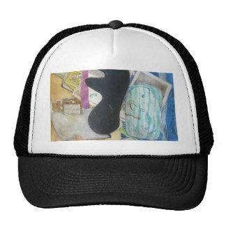 Bathroom Objects Trucker Hat
