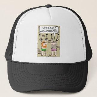 bathroom privileges dungeon prisoners trucker hat