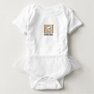 bathroom study hall baby bodysuit