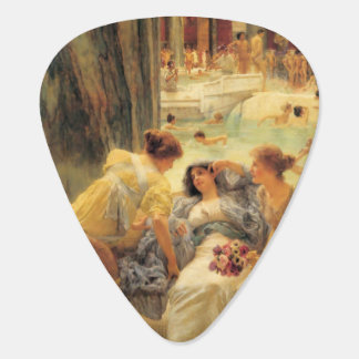 Baths of Caracalla by Lawrence Alma-Tadema Guitar Pick