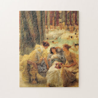 Baths of Caracalla by Lawrence Alma-Tadema Jigsaw Puzzle