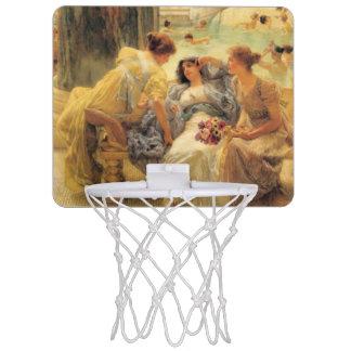 Baths of Caracalla by Lawrence Alma-Tadema Mini Basketball Hoops