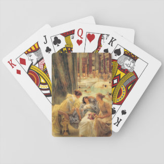 Baths of Caracalla by Lawrence Alma-Tadema Playing Cards