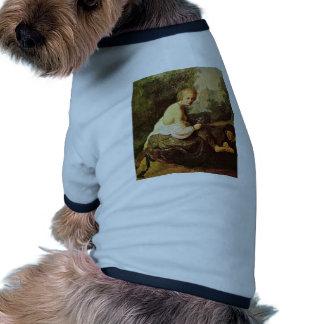 Bathsheba en su retrete visto por rey David. [1] Camisas De Mascota