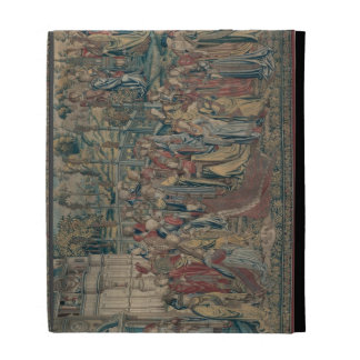 Bathsheba ordered to the Palace Tapestry of David iPad Folio Covers