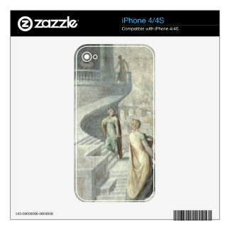 Bathsheba Visiting David, c.1553 iPhone 4 Skins