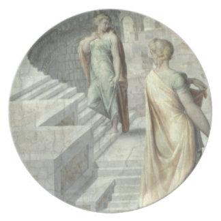 Bathsheba Visiting David, c.1553 Melamine Plate