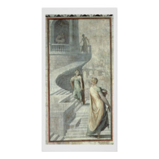 Bathsheba Visiting David, c.1553 Poster