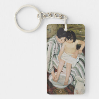 Bathtime Mother and Child Keychain