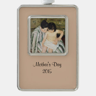 Bathtime Mother and Child Ornament
