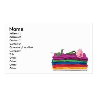 BathTowelsRose, Name, Address 1, Address 2, Con... Business Card