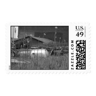 bathtub cemetary - Customized Stamps