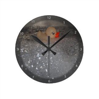 Bathtub Round Clock