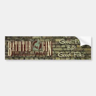 Bathtub Gin Railroad Company Good Folk Sticker Car Bumper Sticker
