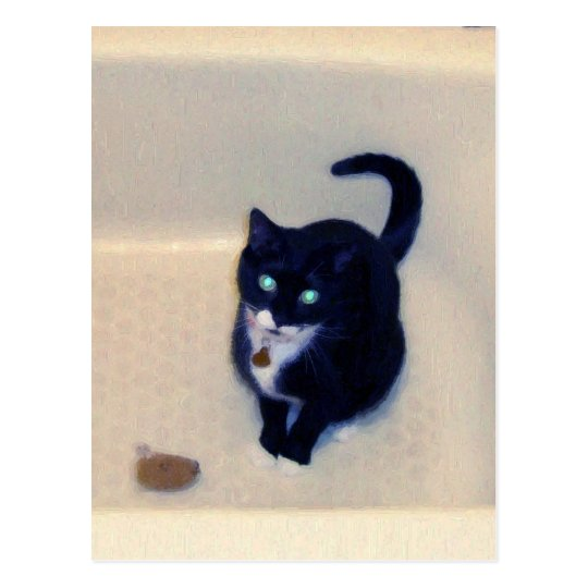 Bathtub Playtime Postcard