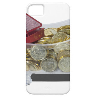 BathtubGoldCoins080214 copy.png iPhone SE/5/5s Case