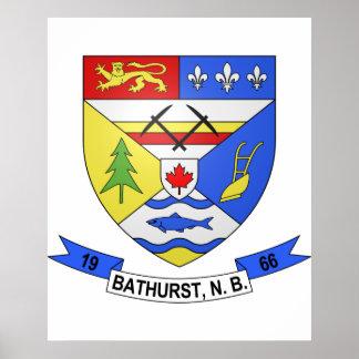 Bathurst2 , Canada Poster