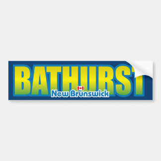 Bathurst Bumper Bumper Sticker
