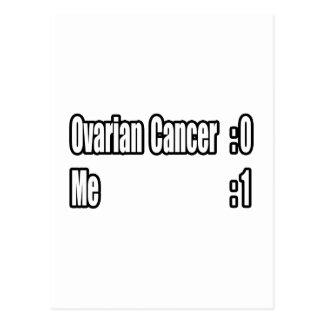 Batí al cáncer ovárico (el marcador) tarjeta postal