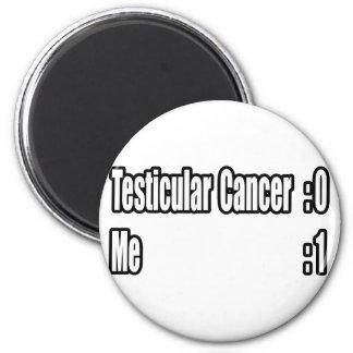 Batí al cáncer testicular (el marcador) iman