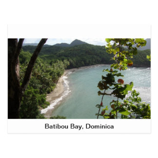 Batibou Bay, Dominica Postcard