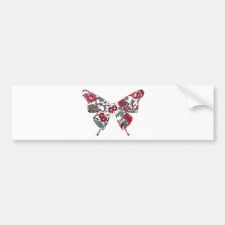 batik and butterfly no.1 bumper stickers