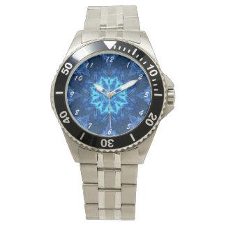 Batik azul relojes de mano