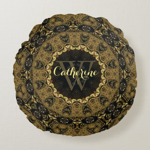 Batik Bohasia Earthy Arts Round Cushion Pillow