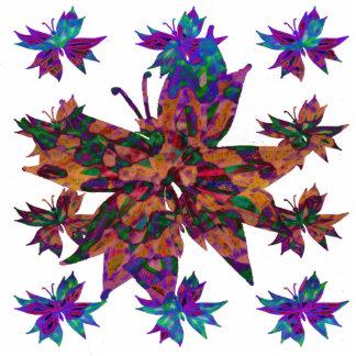 Batik Butterfly Sculpture