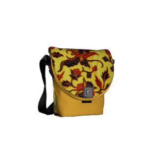 Batik Courier Bag