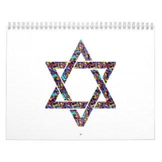 batik de la estrella calendarios de pared