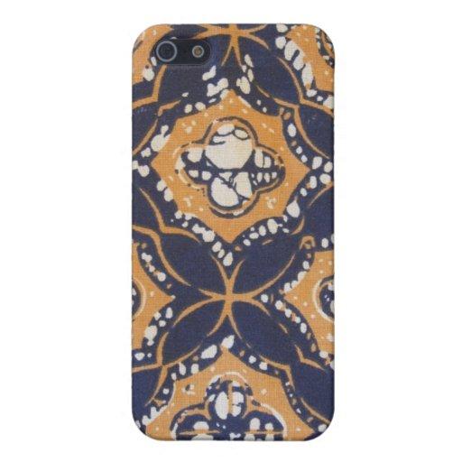 Batik del Balinese iPhone 5 Protectores