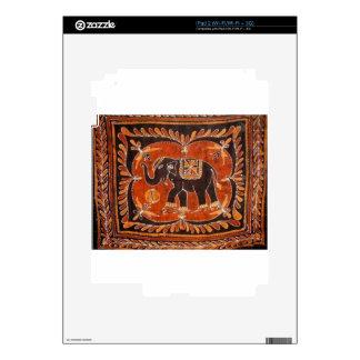 Batik del elefante iPad 2 calcomanía