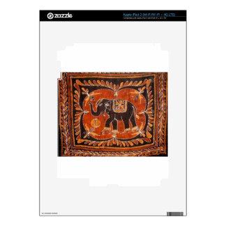 Batik del elefante iPad 3 pegatinas skins