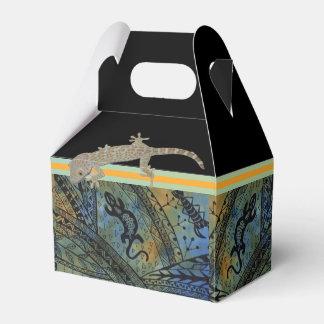 Batik del lagarto paquetes para detalles de bodas