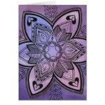 Batik Design Greeting Card