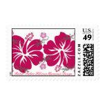 Batik Fabric Hibiscus Harmonie Design Stamps