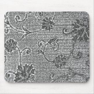 Batik Florals Mouse Pad