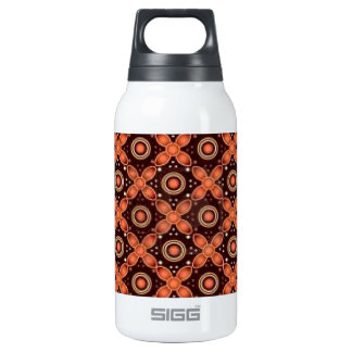 batik graphic art no.2 insulated water bottle