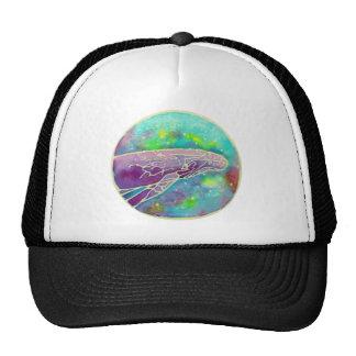 Batik Humpback Whale Art Trucker Hat