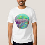 Batik Humpback Whale Art T-Shirt